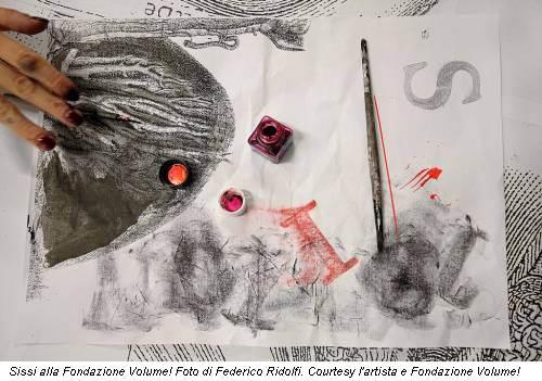 Sissi alla Fondazione Volume! Foto di Federico Ridolfi. Courtesy l'artista e Fondazione Volume!