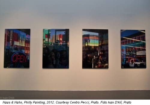 Haas & Hahn, Philly Painting, 2012. Courtesy Centro Pecci, Prato. Foto Ivan D'Alì, Prato