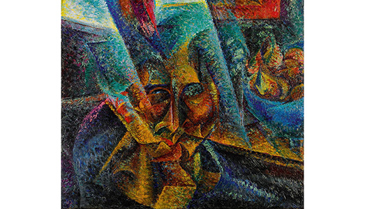 Boccioni all'incanto a Londra