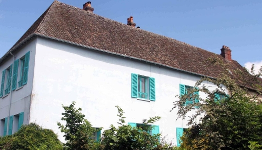 Weekend romantico nella Maison Blu di Monet a Giverny